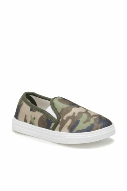 Zenon.p Khaki Boys Slip On Shoes 000000000100378880