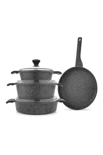 Asteria 7 Piece Granite Cookware Set - Siy01 11040-1 11040-1