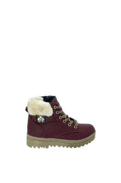Bordeaux Children's Boots Ea27Of27251-620