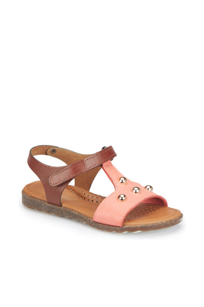 Coral Girl Kids Genuine Leather Sandals 000000000100305122 000000000100305122