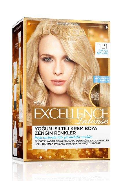 Hair Dye - Excellence Intense No: 121 Very Clear Glacier Yellow 3600523165858