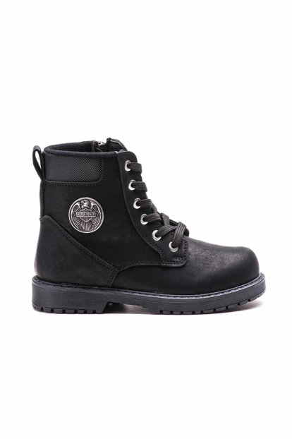 Black Children's Boots