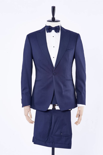 Men's Navy Blue Suit - Du1182204008