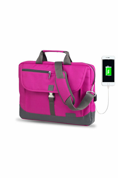 Pink Unisex Laptop / Briefcase MV8848