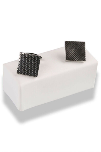 Silver Color Square Cufflink KD522