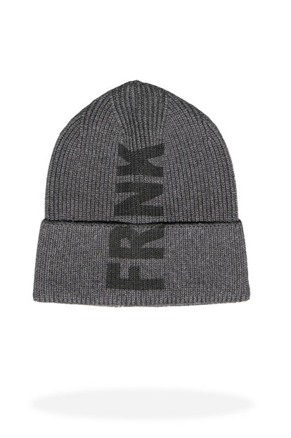 Men's Anthracite Beanie - Jfbn18W02