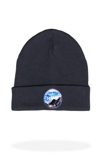 Men's Navy Blue Beret - Jfbn18W01