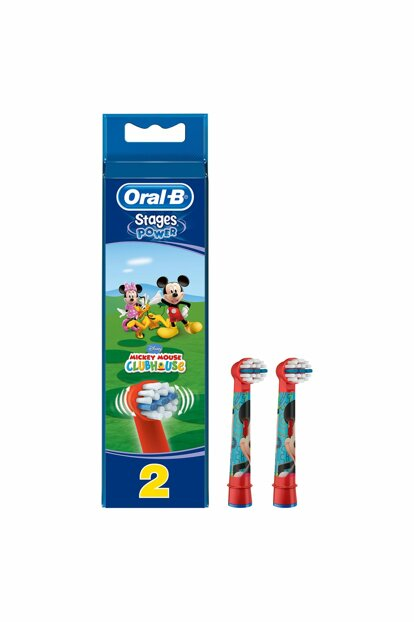 Stages Toothbrush Replacement Heading Cars For Kids 2pcs 4210201746263