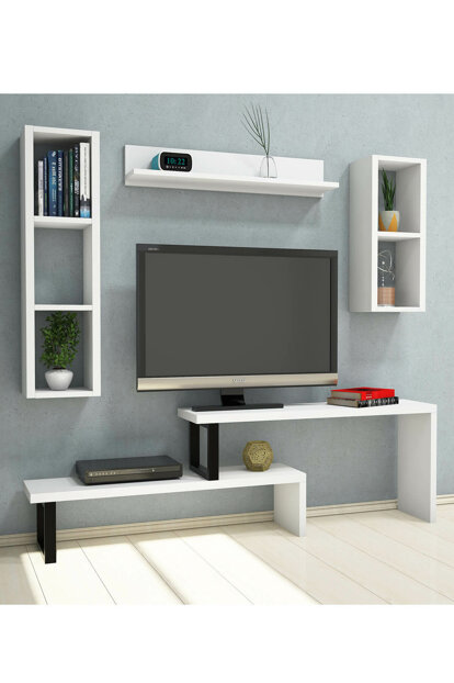 Salko White Tv Unit PUTV4041