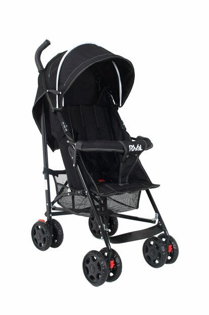 Junıor Baston Baby Stroller Black RV101