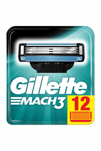 Mach3 Replacement Razor Blades 12 in 3014260323240