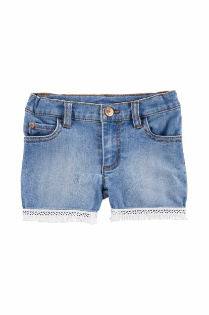 Blue Girls' Shorts 258H277