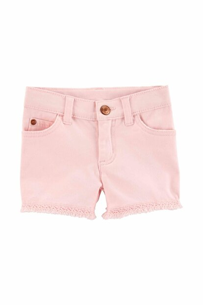Pink Girls' Shorts 258H275