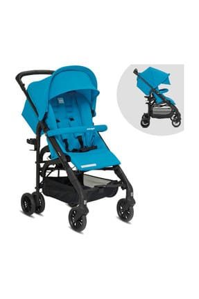 ippy Light Cane Baby Carriage Antigua Blue 000034.000012.000453