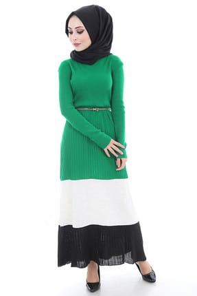 0e126f9ab92 ... Women s Green Belted Sweater Dress 15472BGD19 007. Will be finished in 2  days 15 06 56