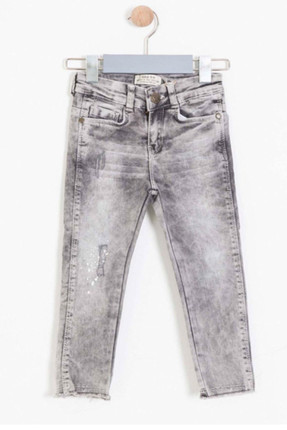 Baby Girl Pants Gray SBDKCPAN308_00-0016