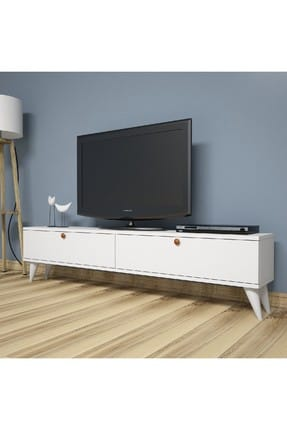 Paris White Tv Unit PUTV4034