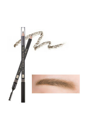 Long Lasting Eyebrow Pencil - Smudge Proof Wood Brow Light Brown 3.5-90mm 8806185772624