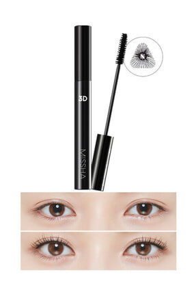 3-fold Plump and Bended Mascara without clumping - 3D Mascara 7g 8809581445789