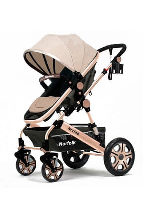 Baby Voyage Comfort Air Luxury Double Stroller 820200 with Double Shock Absorber