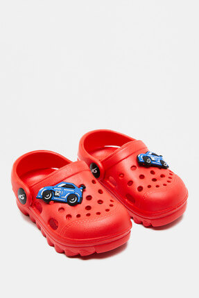 Red Baby Boy Sandals 8YMB20015AA