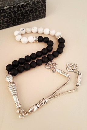 Male Natural Stone Onyx Prayer Beads 121Ar87 121AR87
