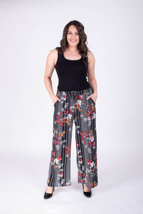 Women's Trousers with Tube Trousers 34250