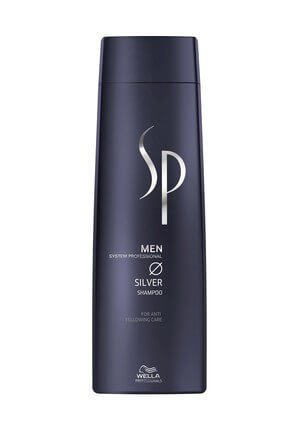 Gray and White Shampoo for Men - Men Silver 250 ml 4015600225735