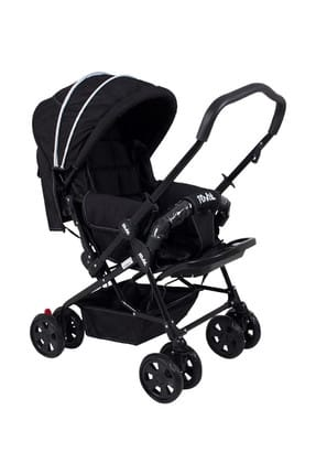 Lucıdo Two Way Baby Stroller Black RV102