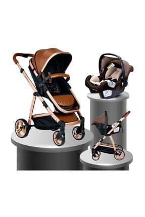 Bh-970 Exclusive Travel System Baby Stroller CAMEL 000007.000038.000006
