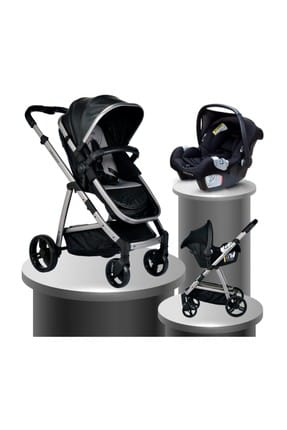 Bh-970 Exclusive Travel System Baby Stroller BLACK 000007.000038.000004