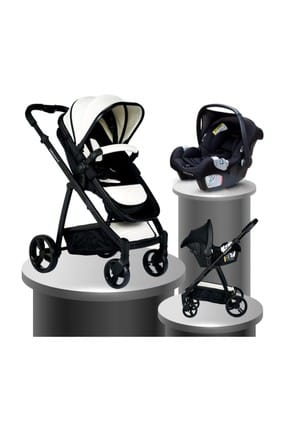 Bh-970 Exclusive Travel System Baby Stroller WHITE 000007.000038.000005
